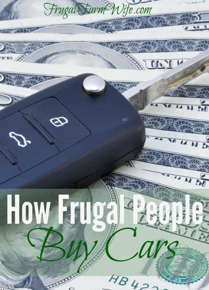 How Frugal People Buy Cars