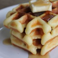 Gluten-Free Belgian Waffles Recipe