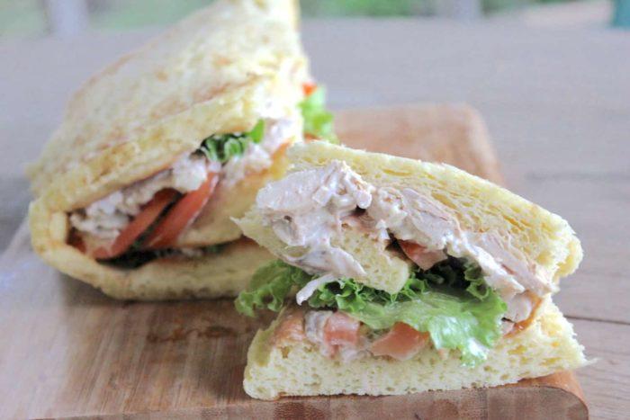 gluten-free wrap-style bread