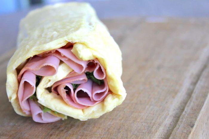 Gluten-Free wrap sandwich