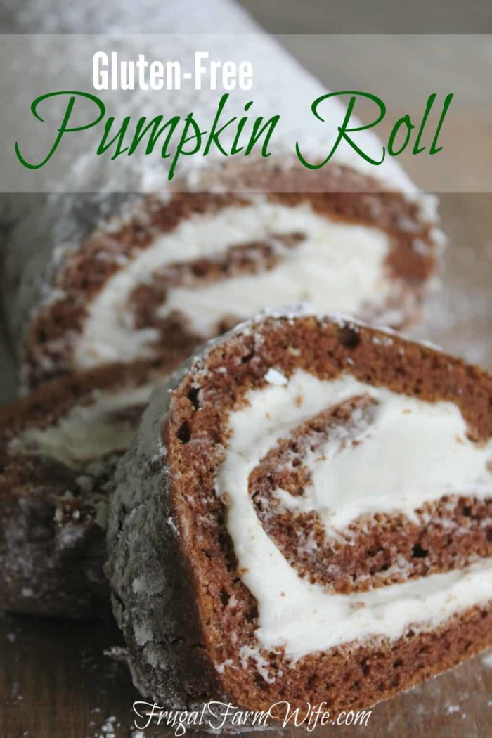 This gluten-free pumpkin roll recipe is amazing! I had no idea how easy it is to make a cake roll.