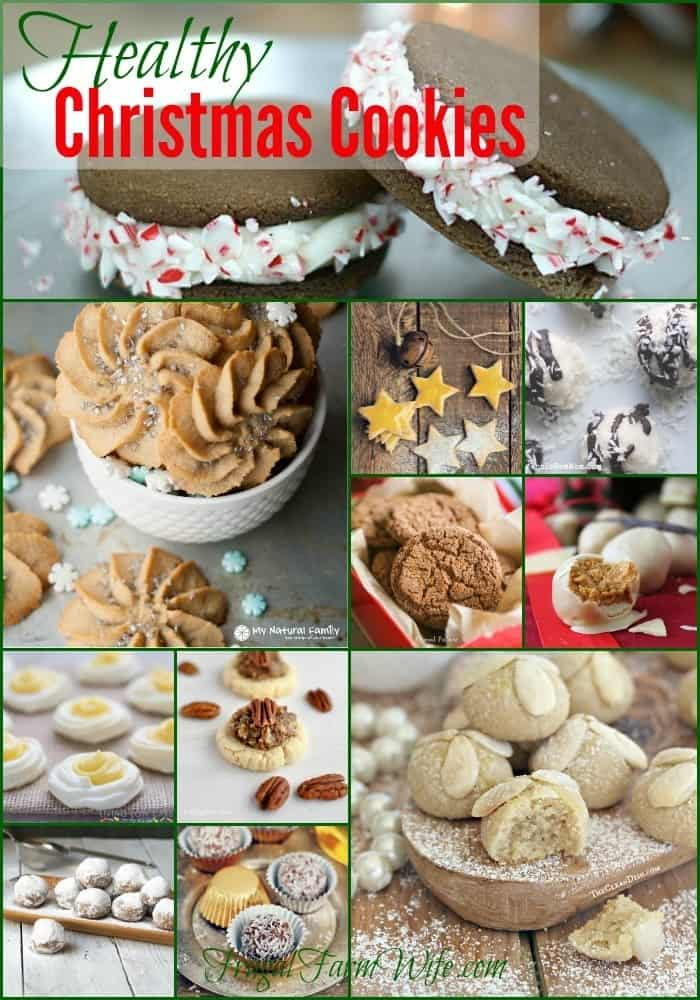 Try all 36 Healthy Christmas Cookie Recipes! These cookies are the perfect way to partake in holiday yumminess, without forsaking your healthy eating habits!