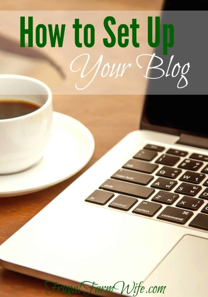 How To Set Up Your Blog - complete with picture tutorials!