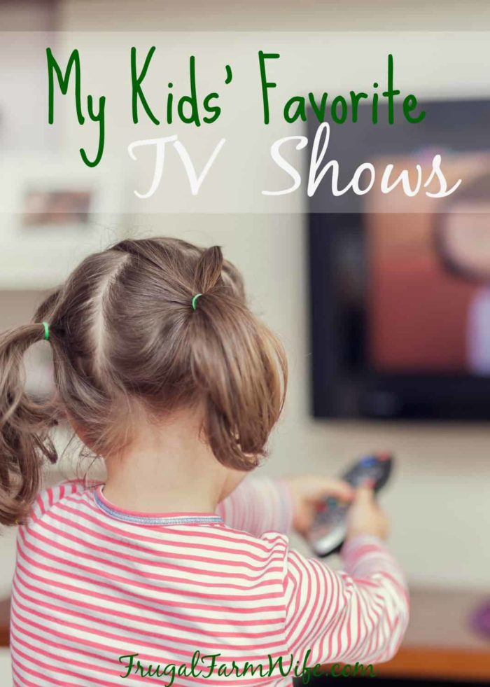 My Kids' Favorite TV Shows. These are great shows for pre-schoolers!