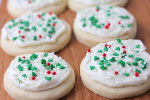 soft gluten-free sugar cookies