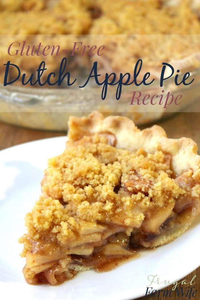 This gluten-free dutch apple pie is amazing! Completely made from scratch, and yet so easy!