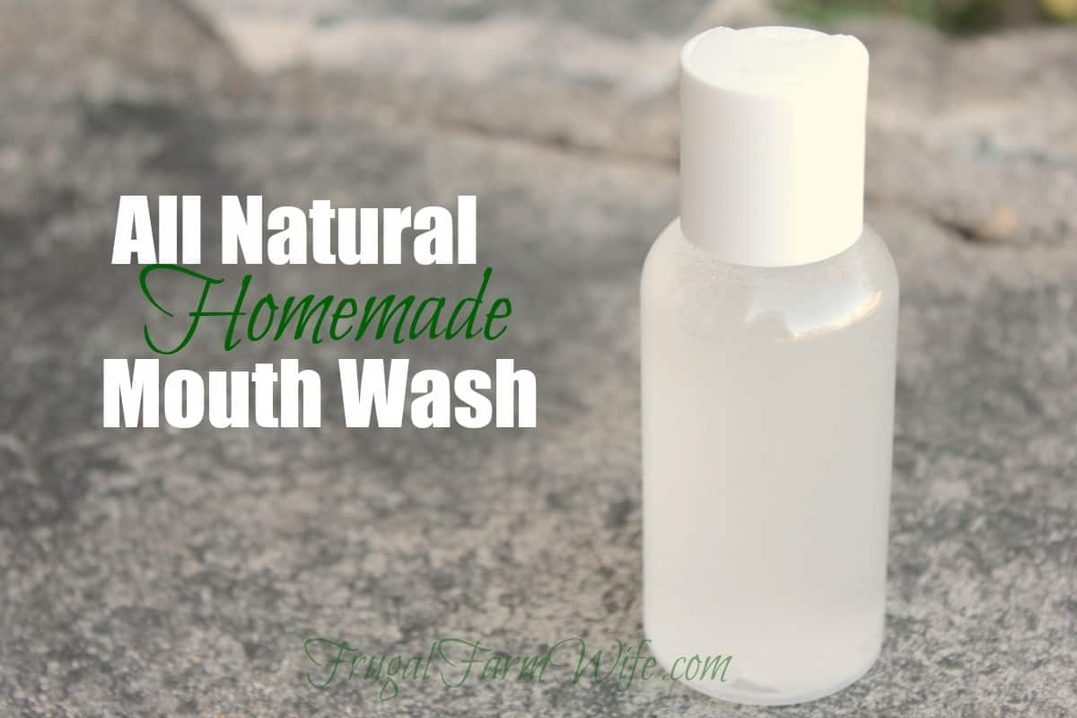 Homemade Mouth Wash Recipe | The Frugal