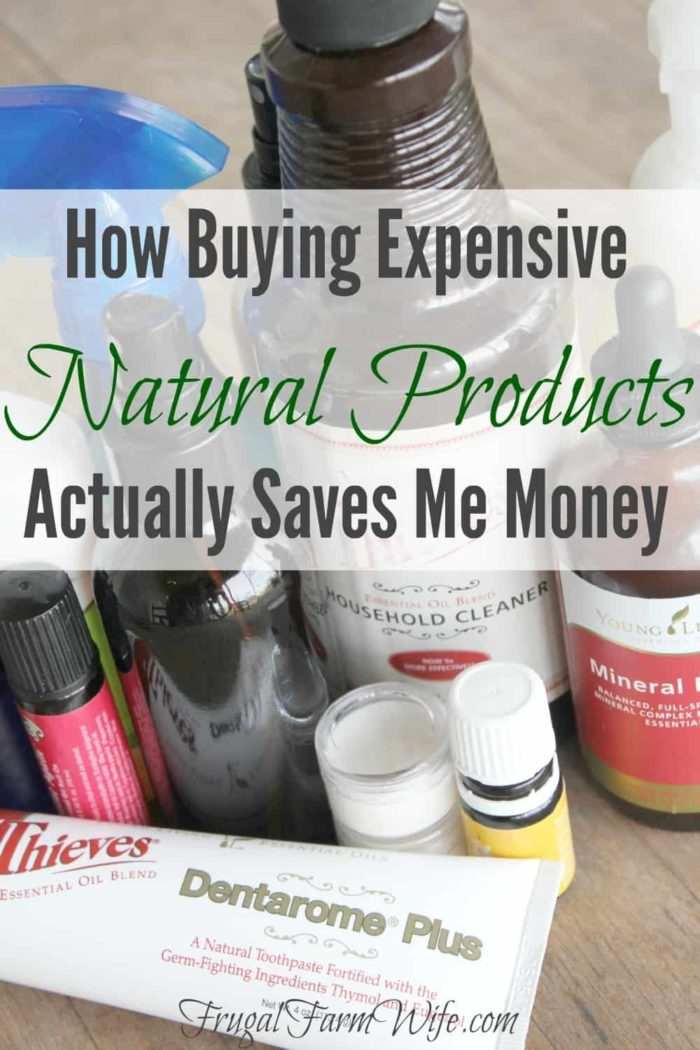 Yes, it's true! We buy possibly the most expensive available because we believe they're the healthiest - and they save us money! Read on to learn how buying Young Living products saves me money.