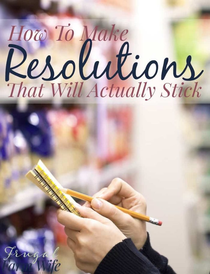 Do you have a hard time sticking to your resolutions? That's because you're doing it wrong! How To Make Resolutions That You'll Actually Stick To