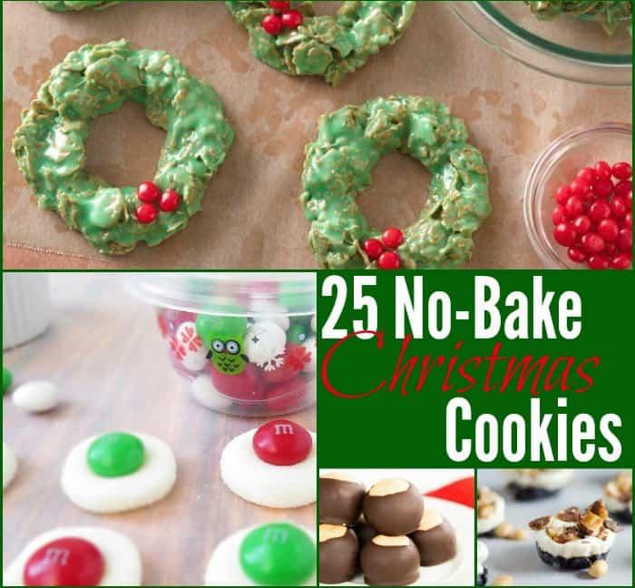 No Bake Christmas Cookies.25 No Bake Christmas Cookies The Frugal Farm Wife