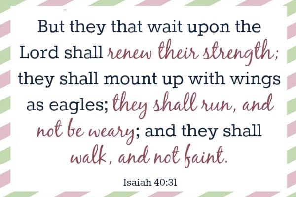 Isaiah 4:31 - Bible Verses To Memorize