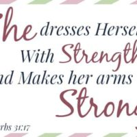 Mom's Memory Verse: Proverbs 31