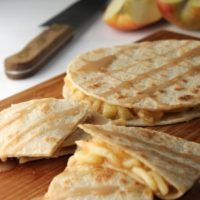 Apple pie Quesadillas