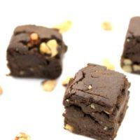Hemp Protein Brownie Bites
