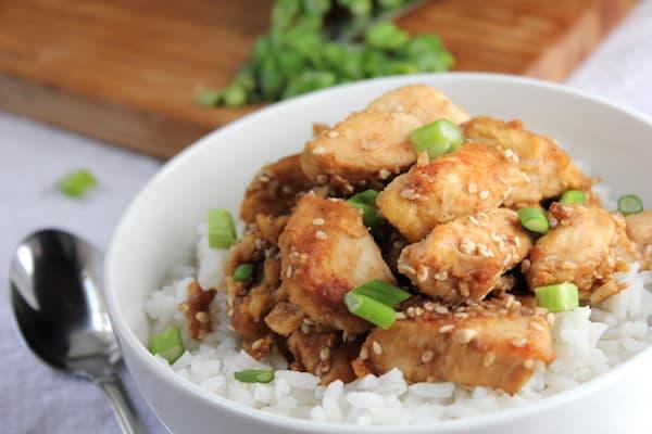 easy sesame chicken recipe