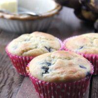gluten-Free blueberry Banana Muffins