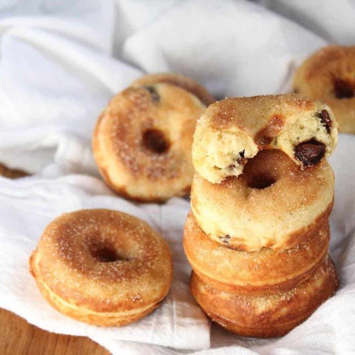 Baked Doughnuts: Gluten-Free Banana Chocolate Chip | The Frugal Farm ...