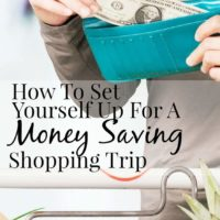 How To Set Yourself Up For A Money-Saving Shopping Trip