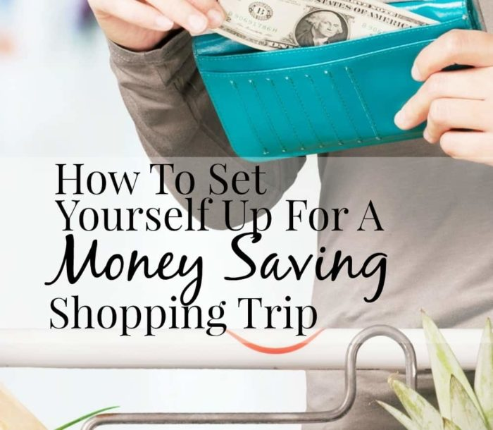 This blogger has some great ideas for how to set yourself up with a money-saving shopping trip! I am definitely going to use some of these ideas!
