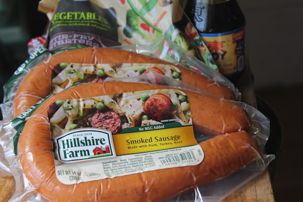 Hillshire farm is great in my easy asian sausage and veggie casserole!