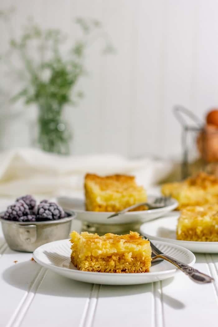Gooey butter cake recipe gluten-free
