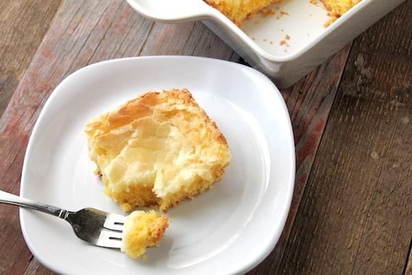 gluten-free gooey butter cake