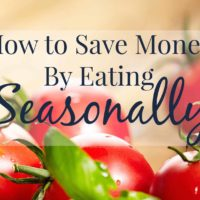 How Eating Seasonally Saves You Money