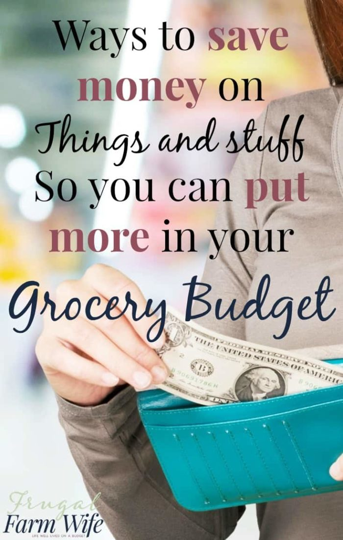 Sure, we could talk about saving money on groceries all day - but what are some ways we can save money FOR our grocery budget? Save Money On Recurring Expenses!