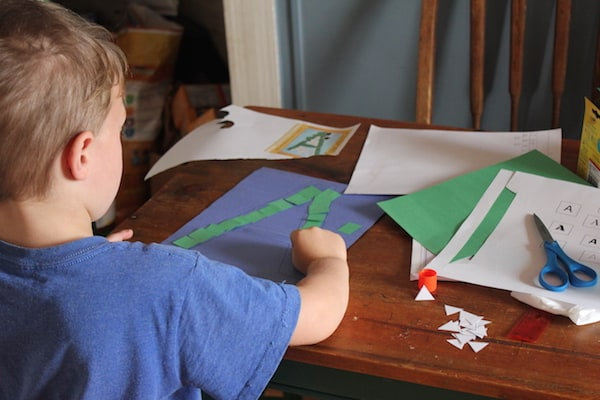 Homeschooling my kindergartener has definitely taught me that it's all about the activities!