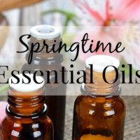 My Top 5 Essential Oils For Spring