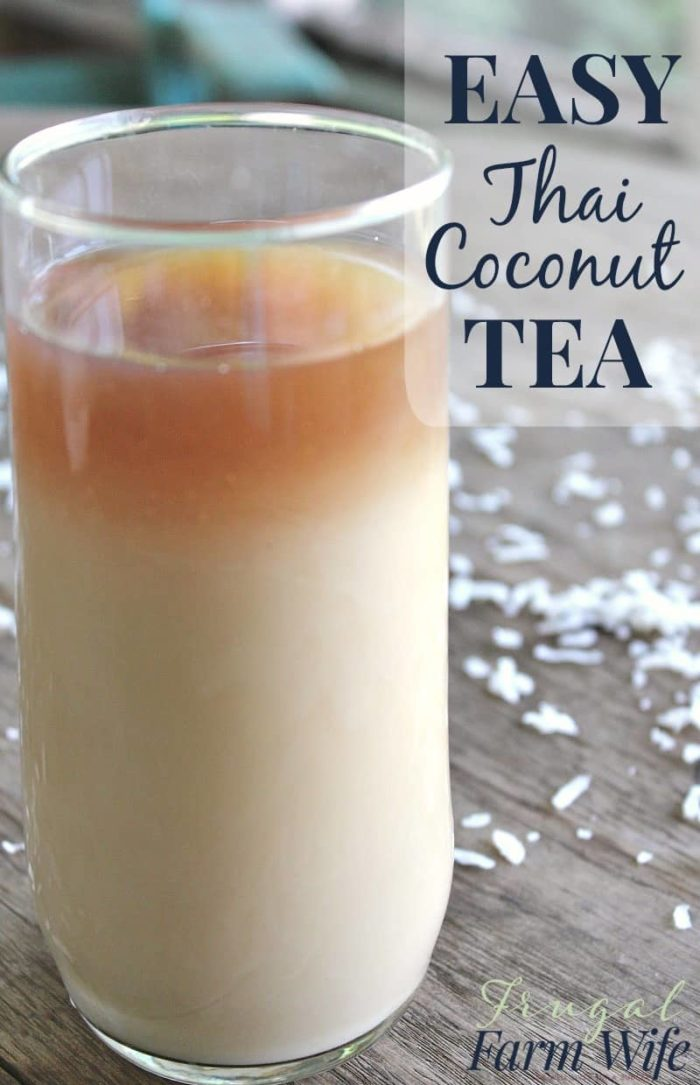 Thai Coconut Tea