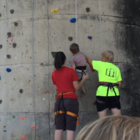 Weekend Wrap-Up with my toddler Rock Climber