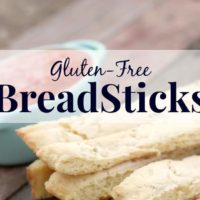 Gluten-Free Breadsticks Recipe
