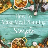 A Look At Our Simple Meal Planning System