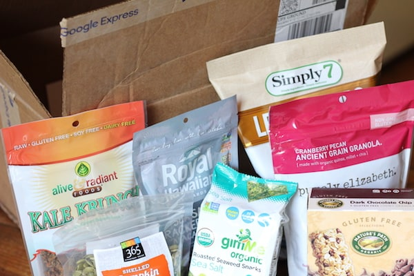 We got all this delicious stuff through Google express!