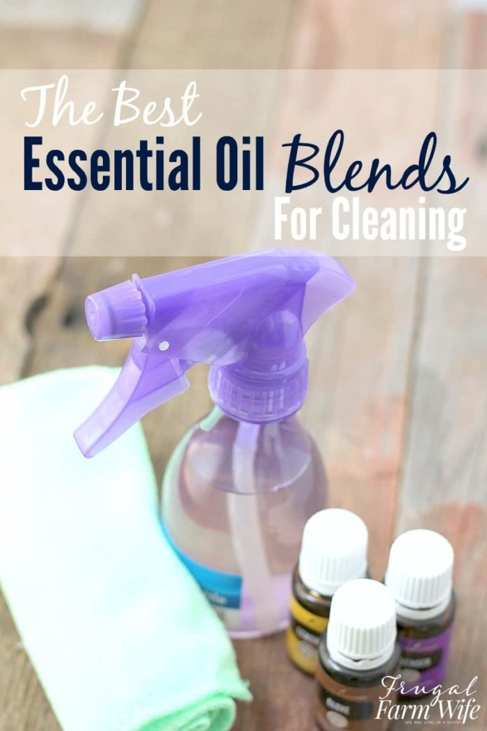 These are the best essential oil blends for cleaning - hands down! From toilets, to countertops. Love 'em!