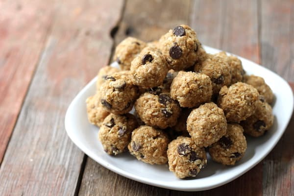 protein-packed no-bake energy balls
