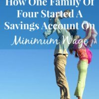 How a family of four saved several thousand dollars on a minimum wage income