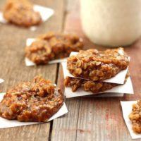 Healthy pumpkin Spice No-Bake Cookies