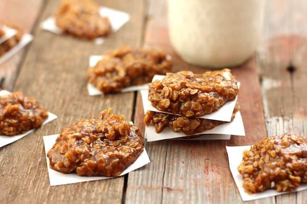 healthy pumpkin spice cookies no-bake