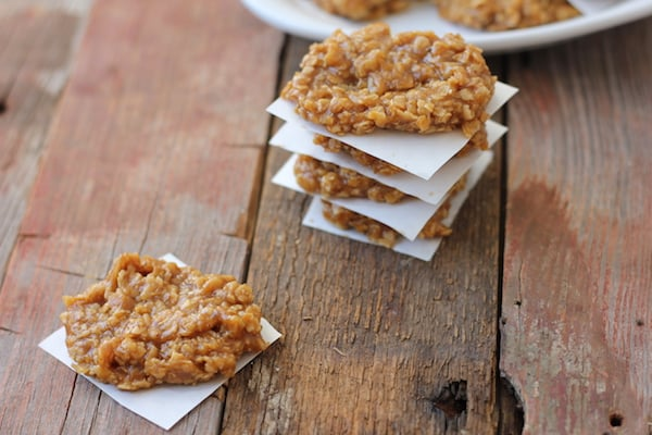 easy pumpkin no-bake cookies