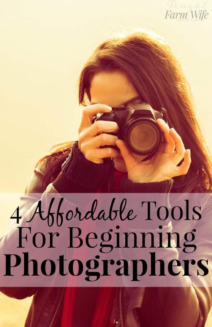 I definitely need to check out all of these tools for beginning photography! So glad I came across this article!