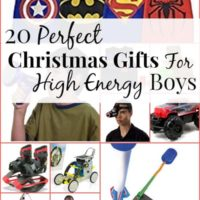 Perfect Christmas Gifts For High Energy Little Boys