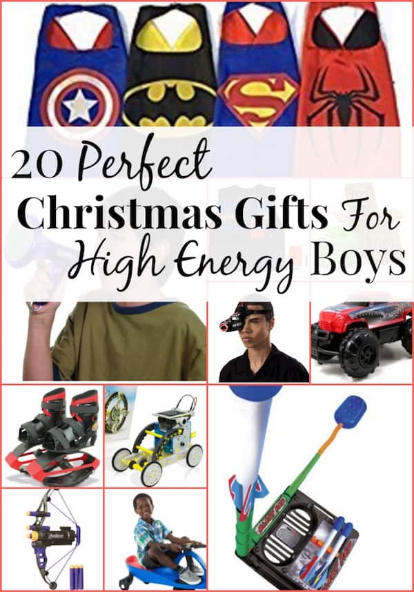 Perfect Christmas Gifts For High Energy Little Boys The