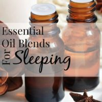 Essential Oil Blends For Sleep