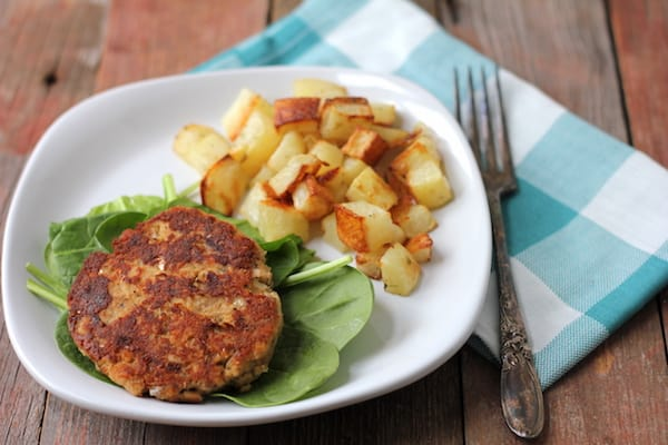 gluten-free salmon patties