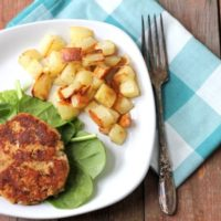 Clean Eating Salmon Patties Recipe