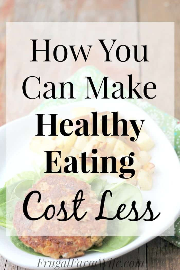 Is healthy eating really expensive, or is that just a vicious myth? This is how you can make eating healthy cost less