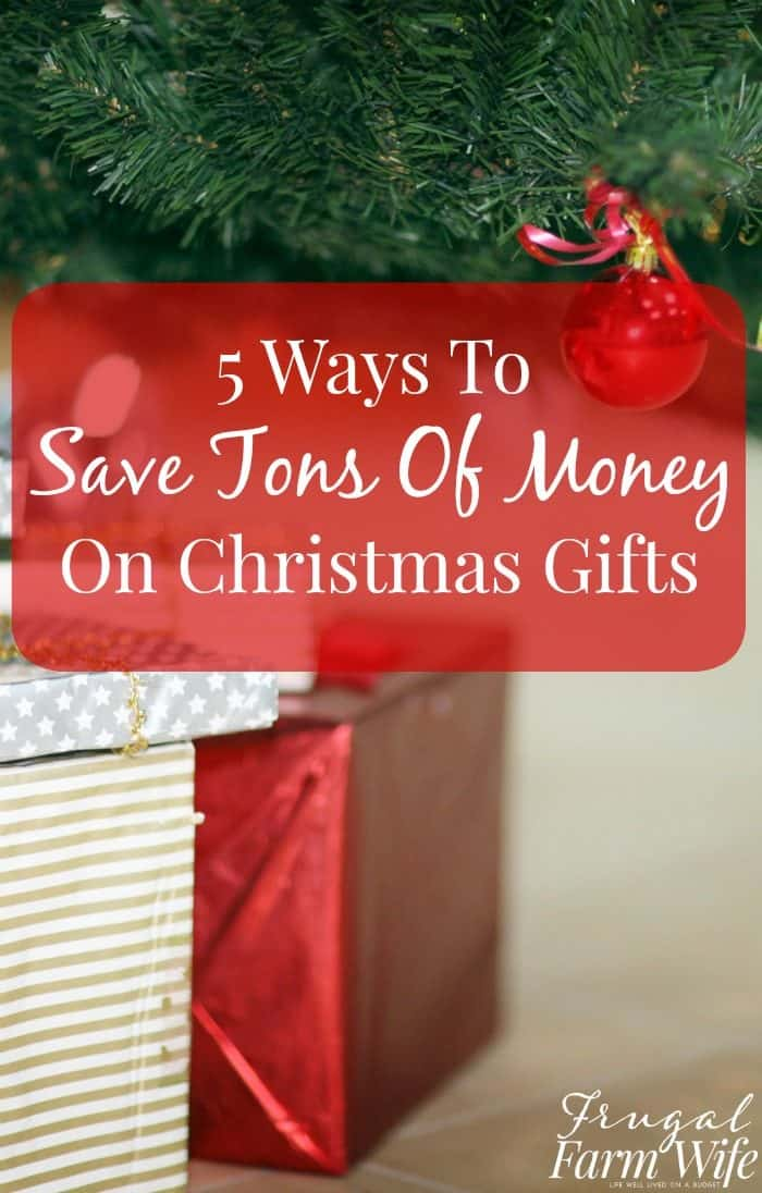 Five Tricks To Save Money At Christmas | The Frugal Farm Wife
