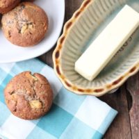 Grain-Free Apple-Spice Muffins